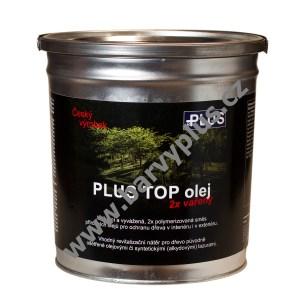 PLUS TOP olej na zahradní nábytek v atraktivních odstínech - foto obalu