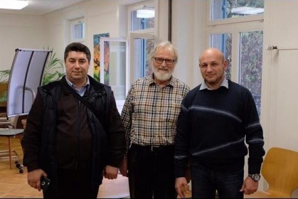 Официальная встреча в Цюрихе. Szondi institut: Ютнер, Мальцев, Вигдорчик