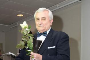 Prof. Wojciech Witkiewicz - laureat Honorowej Nagrody Zaufania Złoty OTIS 2016