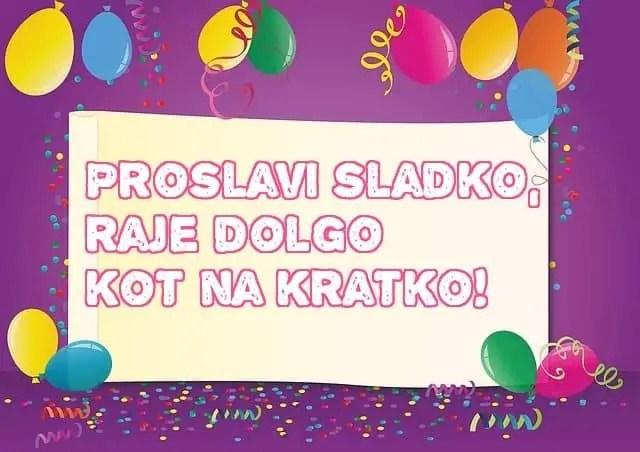 verzi za rojstni dan z baloni