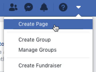 how to create page