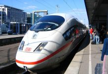 רכבת מהירה בגרמניה