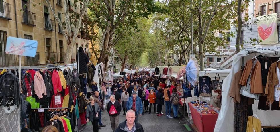 שוק הפשפשים במדריד