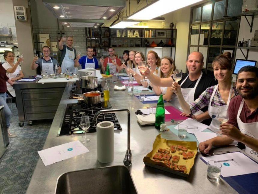 סדנת בישול ברומא