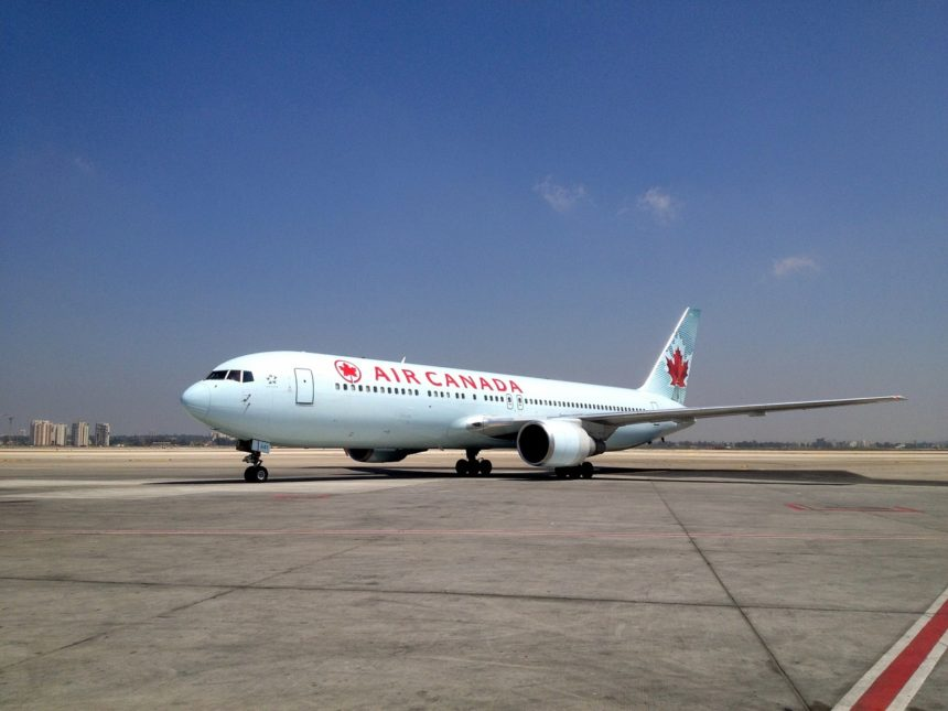 air canada to Israel