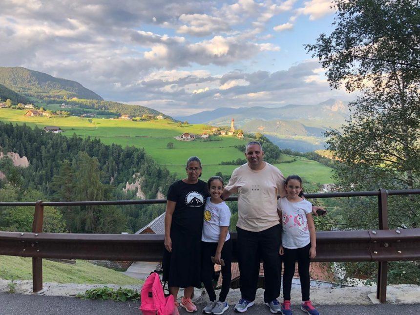משפחת וייץ בטיול בצפון איטליה