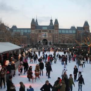 אמסטרדם על הקרח