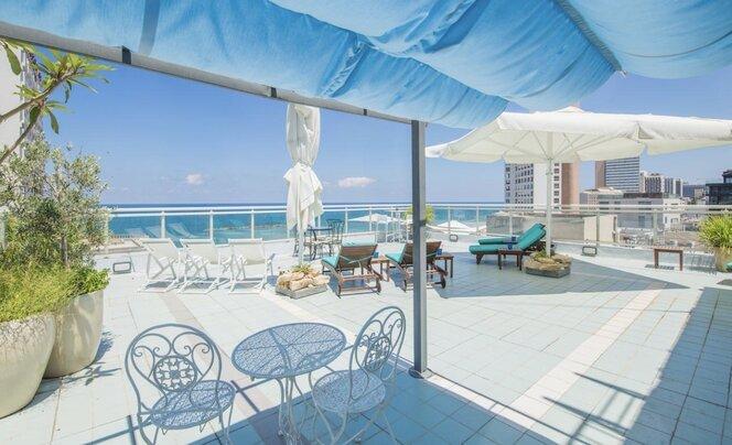 מלון לוסקי על הים בתל אביב