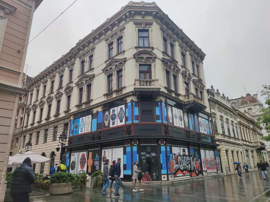 רחוב קנז מיכאלובה בבלגרד