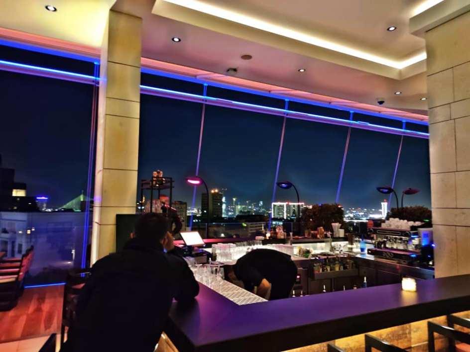 Hilton sky lounge bar