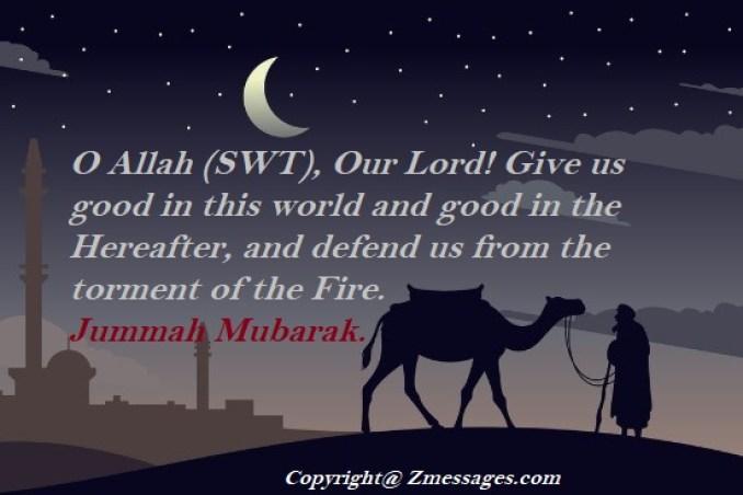 Jumma Mubarak Wishes Messages