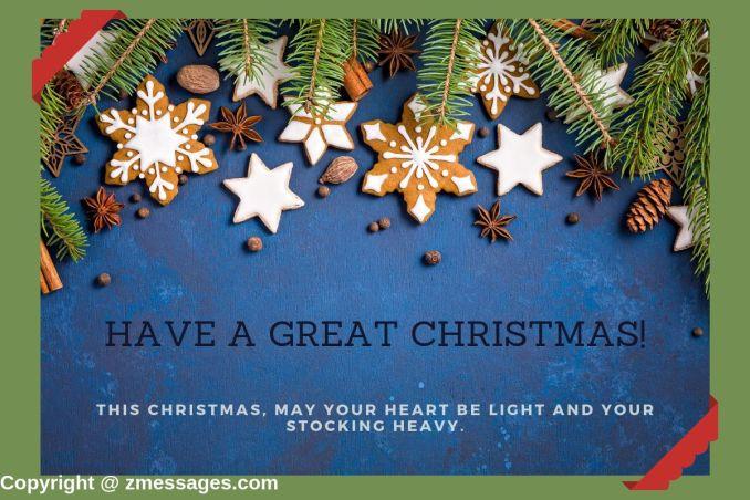 Christmas greetings for son