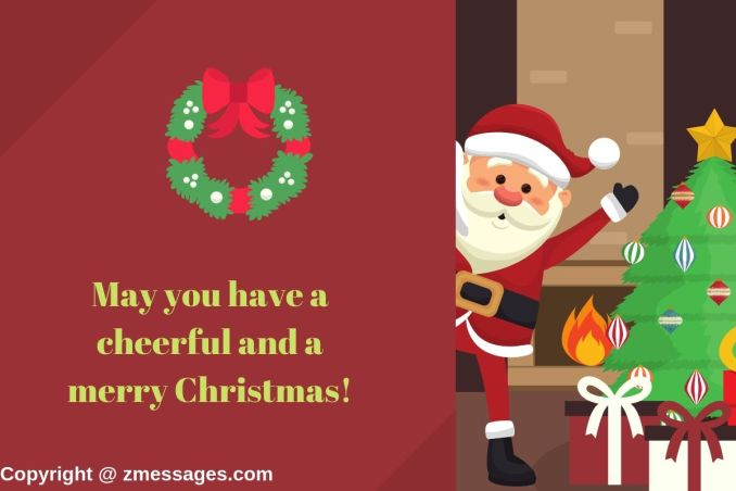 Greetings for christmas