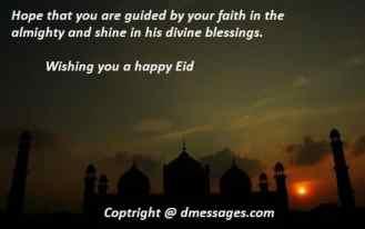 Happy Eid mubarak sms in english