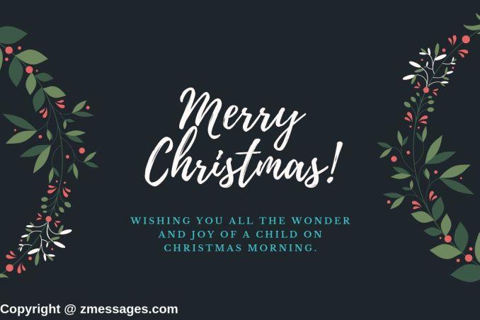 Religious christmas greetings message