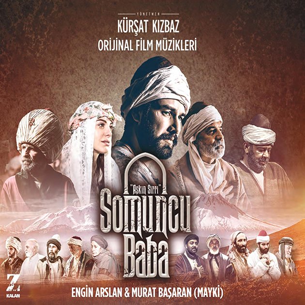 Somuncu-Baba-Aşkın-Sırrı-Orijinal-Film-Müzikleri---Engin-Arslan-Mayki-Murat-Başaran