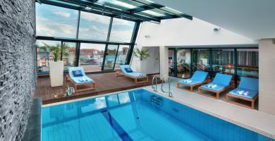 basen, hotel Hilton Gdańsk