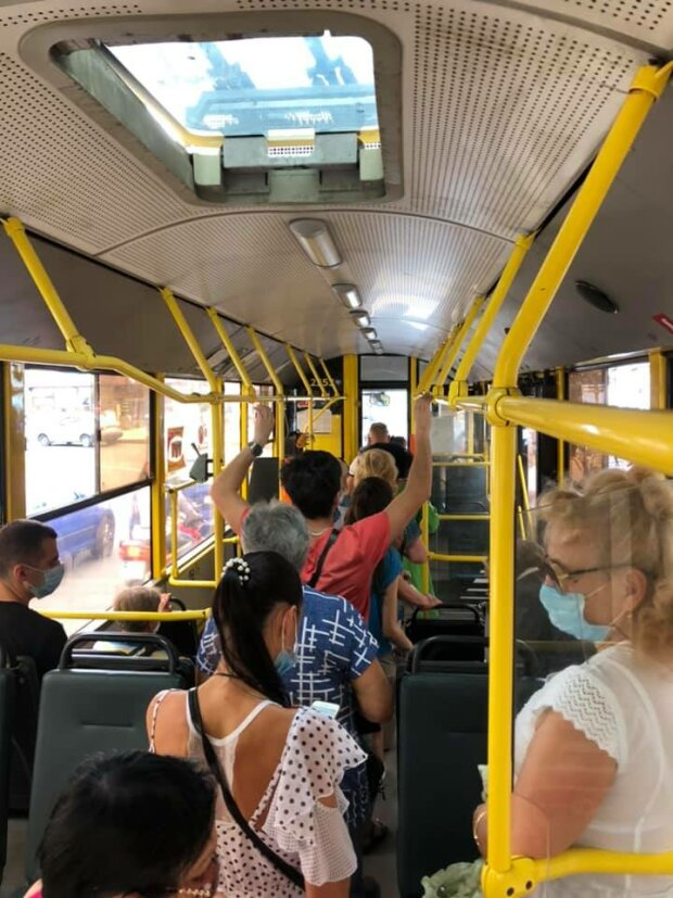 Общественный транспорт-фото из Фейсбука