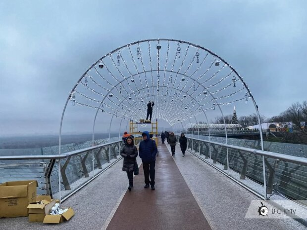 Новорічна локація / фото: Big Kyiv