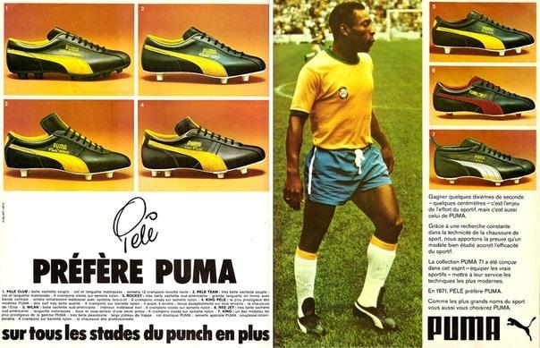 Puma заплатила Пелле 25 000 долларов за то, чтобы он завязал шнурки