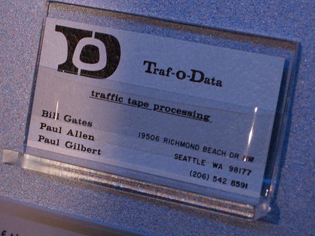 Факт №4: до основания Microsoft у Гейтса была другая компания