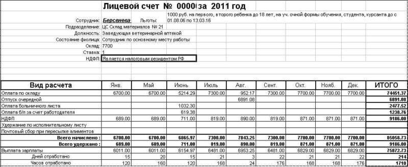 Наименование счета в заявлении на возврат НДФЛ (нюансы)