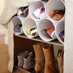 10 Вдохновляющих идей хранения обуви