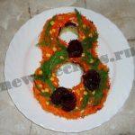 Салат к празднику «восьмерочка»
