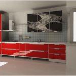 Кухонные фасады в алюминиевой рамке — особенности и преимущества