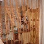 Веревочные шторы — особенности, виды текстиля, в каких комнатах его применяют