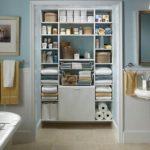 Встроенный шкаф в ванной комнате — виды, устройство, правила выбора