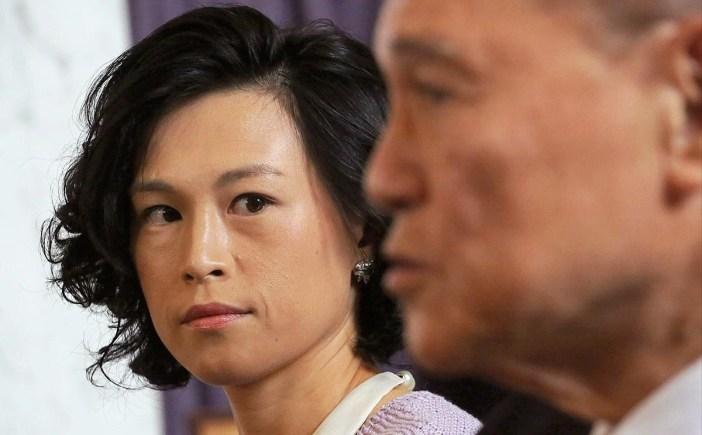Bị cha phản đối mối tình đồng giới nhưng Gigi Chao vẫn được thừa kế tài sản của cha mình. Ảnh:SCMP.