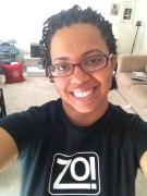 @LifeOfALibra rockin' a Zo! shirt