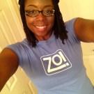 @Sophia1922 with de Zo! shirt
