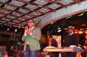 Eric Roberson, me & my stank face that made a few appearances during the show.