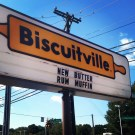 My first visit to Biscuitville in Raleigh, NC (Oct. 2013)