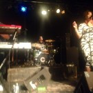 Rockin out in Dallas with Carmen Rodgers, Lock Johnson on the drums (Sept. 2013)