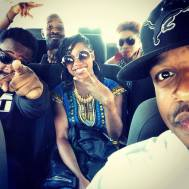 Riding through Soweto