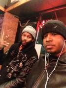 With Waajeed in Detroit