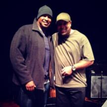 With Frank McComb in Alexandria, VA