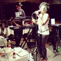 Back on stage with Sy Smith in DC