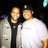 With drummer Lil' John Roberts in ATL