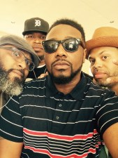 With the bruhs D.Mo, Phonte and Eric Roberson in ATL