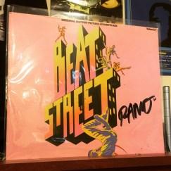 "Autographed 'Beat Street' vinyl sent to me by Jon Chardiet a/k/a ""RAMO"""
