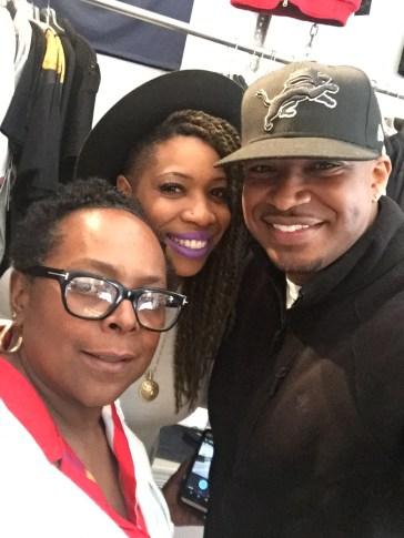 Carmen and I with Zana Smith at Spectacles in Detroit, MI • 04.22.16