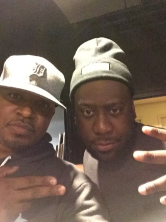 Me and Robert Glasper in NYC