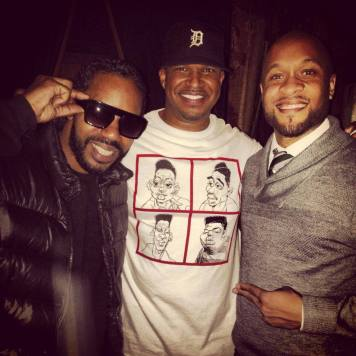 With Dam-Funk and 14KT in LA