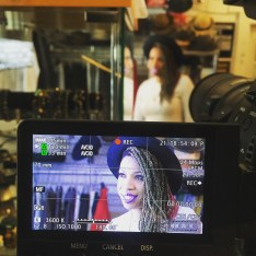 Carmen Rodgers filming for the SkyBreak Documentary in Detroit • 04.22.16
