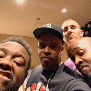 Phonte, Me, Nicolay and Darion Alexander before rockin' in Vegas • 10.15.16