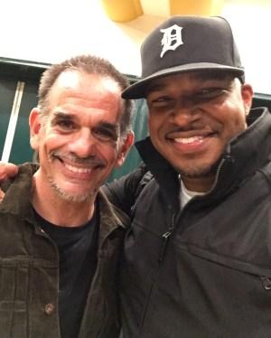 "Me and Jon Chardiet (""RAMO from 'Beat Street') in LA • 10.14.16"